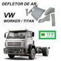 Defletor De Ar Caminhão Vw Worker Titan Fuscão Completo
