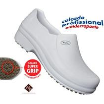 Sapato Branco Enfermagem Profissional