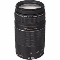 Lente Canon Ef 75-300mm F/4-5.6 Iii Usm Nota Garantia 1 Ano