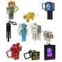 Kit 10 Chaveiros Minecraft Enderman Lobo Alex Pronta Entrega