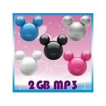 Mickey Mouse Design Mp3 Player E Pen Drive 2 Gb