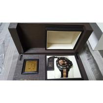Zenith Deft Xtreme - Ouro Rose 18k -com Bracelete De Ouro