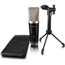 Microfone Condensador M Audio Para Gravação Vocal Studio