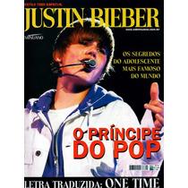 Revista Pôster Justin Bieber C/ 2 Posters 52x81cm E 42x52cm!