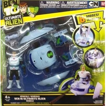 Toy Bandai Ben 10 Ultimate Alien Vehicle Nave Do Encanador