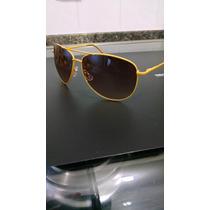 Óculos Aviador Amarelo Hm H&m Importado