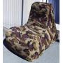 Sofá Tipo Puff / Pufe Camuflado - Enchimento De Isopor