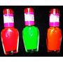 Kit 3 Esmaltes Fluorescentes(brilha Na Luz Negra)