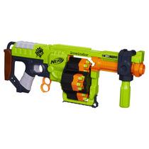 Lançador De Dardos Nerf Zombie Doominator B1533 C/ 24 Dardos