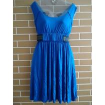 Vestido Cavendish Azul. Tam. P.