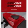 Emblema Adesivo Rabeta Honda Cbr 600rr 2008 Vermelha Decalx