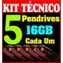 Kit Técnico De Informatica Em 5 Pendrives   Manutenção