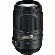 Nikon Af-s Dx Nikkor 55-300mm F/4.5-5.6g Ed Vr Lente Zoom