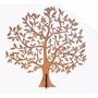 Àrvore 43cm Mdf Cru Provençal Com Base P Decoração E Enfeite