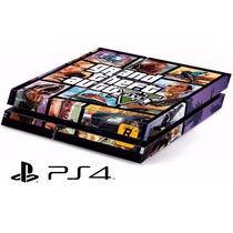 Capa Skin Adesivo P/ Playstation 4 - Ps4 Gta V