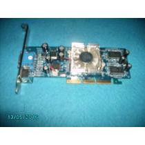 Placa De Video Xfx Geforce4- Mx440se 64mb Agp8x Oem