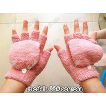 Luva/luvinha Feminina De Frio/inverno 33# Sem Dedo Meio Dedo