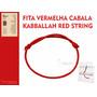 Fita Vermelha Cabala / Kabbalah Red String - Pronta Entrega