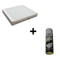 Filtro Cabine + Limpa Ar Condicionado Amarok Cayenne Touareg