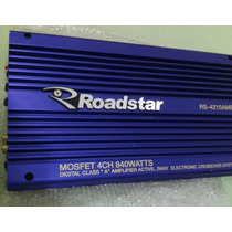 Modulo Roadstar Rs4210 840 Watts 4 Canais