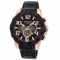 Relógio Masculino Technos Cronógrafo Os20il/1p Legacy 10 Atm