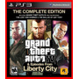 Grand Theft Auto Iv & Episodes From Libert. Gta 4 Ps3 Cód.