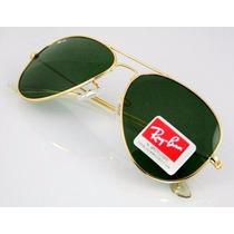 Óculos Aviador Ray Ban Masculino Rb3025 Rb3026 Tradicional