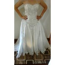 Vestido Noiva Tafetá De Seda