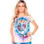 Linda Camiseta De São Miguel Arcanjo Feminina - São Miguel