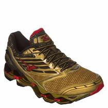 Mizuno Wave Prophecy 5 100% Original Golden Runners + Brinde