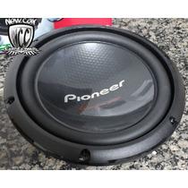 Sub Woofer Pioneer Ts- W260 D4 10 Polegada Bob Dupla 350 Rms