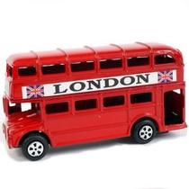 Miniatura Ônibus Londres 2 Andares Enfeite Presente