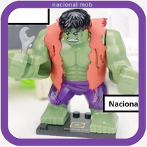 Lego Hulk Bruce Benner Colete - Os Vingadores Avengers Big