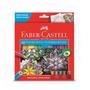 Lápis De Cor Faber Castell 60 Cores Frete Grátis