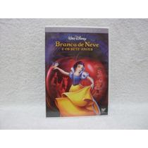 Dvd Duplo Branca De Neve E Os Sete Anões- Walt Disney