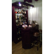 Bar Em Madeira Mogno