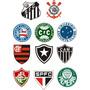 Adesivol Time De Futebol Frete Gratis