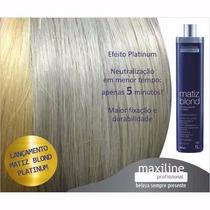 Matiz Blond Platinum 1l - Maxiline