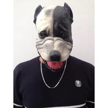 Máscara Terror Pit-bull 100% Látex Spook