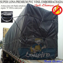 Lona Premium Caminhão Lonil Pvc Argola Emborrachada 9,5x4,5
