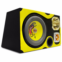Caixa De Som Dutada Trio Musicall 66 Litros 540w Rms Grafita