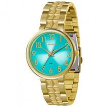 Relógio Lince Lrg4275l A2kx Feminino Dourado - Refinado