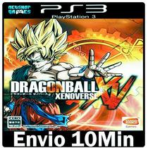 Dragon Ball Z Xenoverse Ps3 Psn Midia Digital Envio Imediato