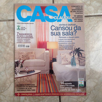 Revista Casa Claudia Ano 30 N4 Abril 2006 Sala Banheiros