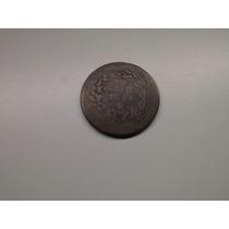 Moeda Mexico 1 Centavo 1881 -mo- Cobre