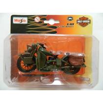 Moto Maisto Harley Davidson 1942 No Blister Para Gijoe