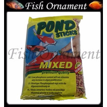 Tropical Pond Sticks Mixed 90g Ração De Carpas Fish Ornament