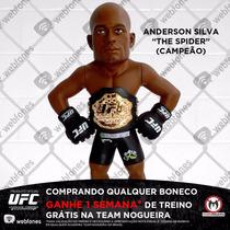 Boneco Ufc Collection Anderson Silva Cinturado Oficial