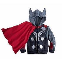 Blusa Em Moleton Infantil Super Heróis Thor