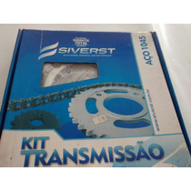 Kit Relação Nxr Bros125 Silverst1045 Aki No Marcio Motos